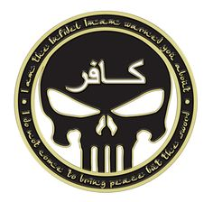Infidel Skull Black Shirt $19.95