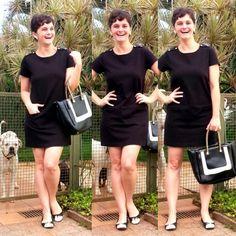 LEILA DINIZ *blog: Look PRETINHO BÁSICO para fazer audiência e alguns...