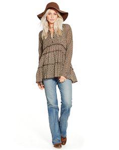Floral Cotton Tunic - Shop All Apparel - Ralph Lauren France