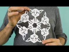 How to Make Star Wars Snowflakes - DIY & Crafts - Handimania