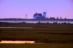 Hardings Beach Lighthouse Chatham, Cape Cod  A photo inspired by the work of the late Jay Elliott.  © Christopher Seufert Photography