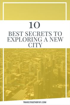 10 BEST Secrets to Exploring a new city Ways To Travel, Travel Tips, New City, Exploring, Saving Money, Travelling, Budgeting, Have Fun, Cities