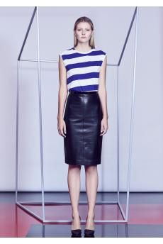 The Combat Stripe Tee and Charlot Skirt from the SS14 collection by CAMILLA AND MARC.