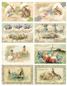 24 Easter and Spring images, digital download, $3.00