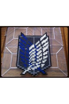 Attack on Titan Scout Legion Perler Beads by HouseofGeekdomBeads, $10.00