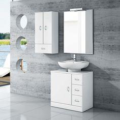 mueble baño lavabo pedestal 63   tu Cocina y Baño