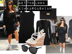"""Get the look: Kim Kardashian"" by beautybychloewalton on Polyvore"