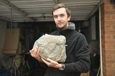 Scott Taylor, who has a rare brain condition, says fossil hunting is his 'little escape' from the world Fossil Hunting, Drops In The Ocean, Fossilized Coral, Kids Daycare, East Yorkshire, Bill Gates, Fossils, Dan, Things To Think About