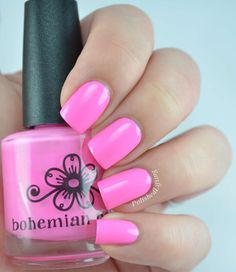 Love You 15mL Hand Blended Nail Lacquer by BohemianPolish on Etsy