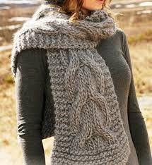 Resultado de imagem para pontos de trico para cachecol