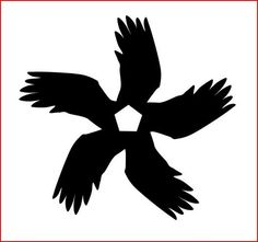 Sigil dedicated to the Morrighan