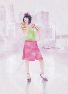Fashionistas (just an illustration) Ballet Skirt, Graphic Design, Illustration, Skirts, Fashion, Moda, Tutu, Fashion Styles, Skirt