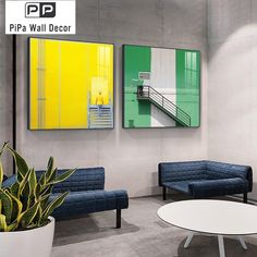 Colorful Building Painting Pictures Modern Abstract Landscape Poster Print Nordic Wall Art Decorative canvas for Living Room HD Painting Pictures, Pictures To Paint, Abstract Wall Art, Abstract Landscape, Living Room Canvas, Building Painting, Colourful Buildings, Poster Prints, Canvas Prints