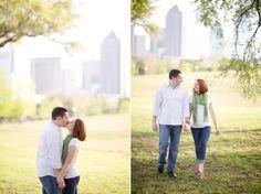 Dallas Engagement Session - Dallas Skyline - www.emilydavisphoto.com
