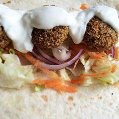 Falafel Falafel, Tacos, Mexican, Ethnic Recipes, Food, Essen, Falafels, Meals, Yemek