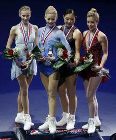 Polina Edmunds, Gracie Gold, Mirai Nagasu, Ashley Wagner