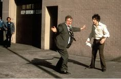 Al Pacino and Charles Durning in Dog Day Afternoon Al Pacino, Charles Durning, Moonage Daydream, Dog Day Afternoon, Movie Blog, Event Photos, Great Movies, Dog Days, Candid