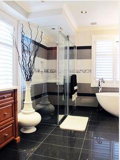 Aquabrass Caicos Bathtub, XSquare Tub Filler featured in @tocdesign bathroom design #Aquabrass #Bathtub