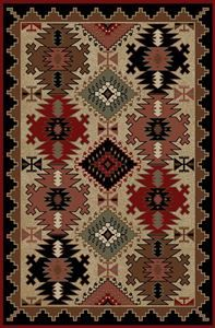Delectably Yours Decor Durango Southwest Rug 2x3 2x8 4x6 5x8 or 8x10  #DelectablyYours Western Southwestern Rugs & Decor