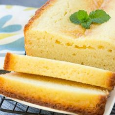 Must make Classic Ricotta Pound Cake recipe - will disappear first it's that good!