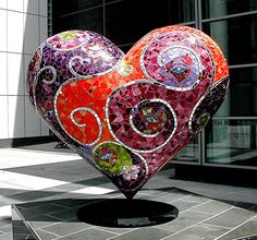 Yerba Buena Mosaic Heart (San Francisco) ~ by ms.donnalee / donna cleveland