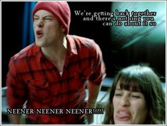 Glee!! This seriously made me laugh out loud! I can totally see them saying that!!