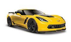 Corvette Z06 2015 gelb 1:24 Maisto 31133