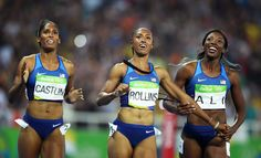 Brianna Rollins, Nia Ali, and Kristi Castlin swept the 100-meter hurdles event at the Rio Olympics....