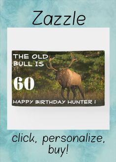 Shop Funny Elk Old Man Bull Wildlife Birthday Party Banner created by fishing_hunting_tees. Personalize it with photos & text or purchase as is! Birthday Party Celebration, Unicorn Birthday Parties, Fall Birthday, Outdoor Banners, Party Banners, Word Out, Old Men, Elk, Nature Photography