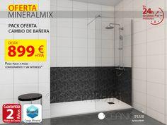 Oferta de cambio de bañera por ducha desde sólo 899€ - SecuriBath