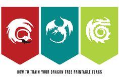dragon-flags en party ideeen