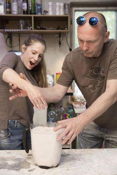 Workshop odlievanie častí tela  - casting body part worshop