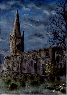 Church of St Mary de C. Leicester, United Kingdom, Cathedral, Saints, Europe, Soft Pastels, The Unit, Building, Places