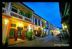 Soi Romanee in Phuket Town used to be the naughty area and is now the coll place to visit. http://phuket101.net/2011/01/old-phuket-town-thalang-road.html