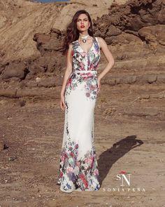 Vestidos de Fiesta, Vestidos de madrina, Vestidos para boda, Vestidos de Coctel 2017. Colección Primavera Verano Completa 2017 Scarlett. Sonia Peña - Ref. 1170216