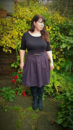 Purple deer and doe Chardon skirt blogged here: https://justsewtherapeutic.wordpress.com/2014/10/24/a-purple-deer-and-doe-chardon-skirt/