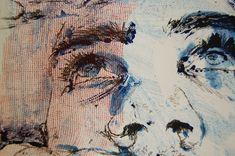 Monoprint Portrait (Detail) | by louie2shoes Advanced Higher Art, Ap Studio Art, Collagraph, Ap Art, High Art, Art Club, Art Portfolio, Summer Art, Types Of Art