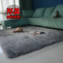 Continental Xin livable living room coffee table, sofa bed and bedroom windows hairy thickening elastic silk carpet shop for custom