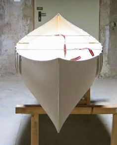 Stunning homemade canoe.