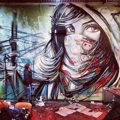 Alice Pasquini - Street Artist