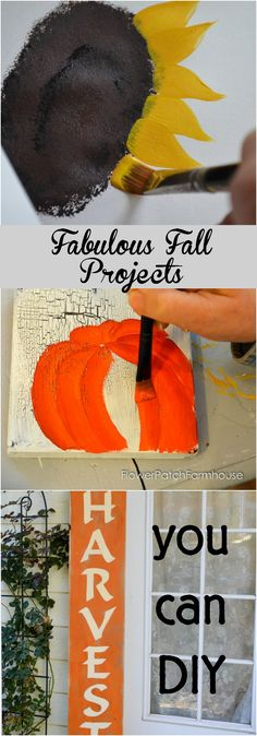 Fall is a fabulous time to decorate, so many rich colors and fun things to do!  Create many Fall inspired projects with these easy tutorials and…