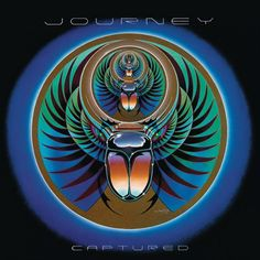 "Journey ""Captured"" Columbia Records KC2 37016 2 12"" LP Vinyl Record Set US Pressing (1981)  Album Cover Art by Stanley Mouse"