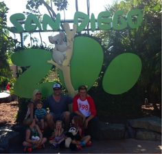 Tori, Dean & family at San Diego Zoo