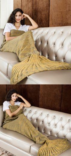 10 besten Mermaid Decke ☃ Bilder auf Pinterest | Mantas crochet ...