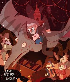 18 - Land Before Swine Constant — Gravity Falls [S01 Episode 01~05]