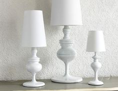 Hamburg & Copenhagen Table Lamps by Brissi White Shop, Table Lamps, Luxury Interior, Accessories Shop, Copenhagen, Shop Now, Lighting, Elegant, Shopping