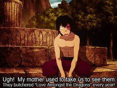 In which Zuko is every fangirl who's ever had their favorite book turned into a movie. So True