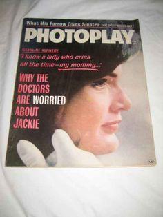 Photoplay V. 67 #3 Mar. 1965 Mia Farrow Sinatra Caroline & Jackie Kennedy, http://www.amazon.com/dp/B00685SQ7A/ref=cm_sw_r_pi_awdm_3cxTvb0WVYZMV