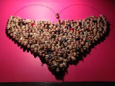 Arte con Barbies, Barcelona