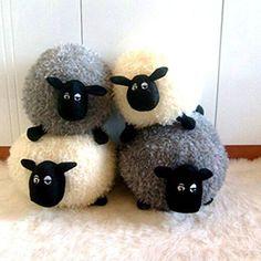 Shaun Sheep Plush Doll Pillow Lamb Doll Birthday Gift Toys Color: Gray Khanet  shop  $13.00